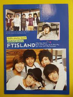 FTIsland photo book (非官方)