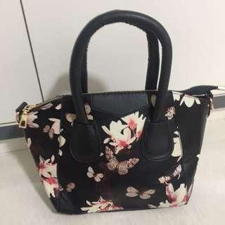 Brand new floral black Bag