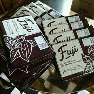 Fuji chocolates
