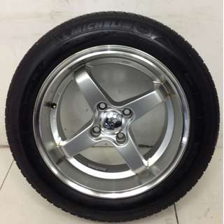 15 '' Sport Rim With Tyre 4x100 (SR966)