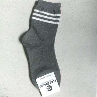 Korean Grey Socks