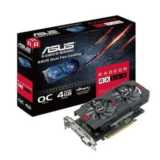 BNIB - ASUS Radeon RX 560 14CU 4GB EVO OC Edition GDDR5 RX560-O4G-EVO AMD Graphics Card