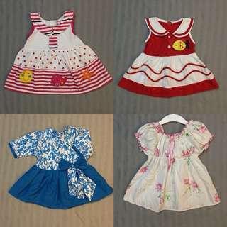 DRESSES 6-12m