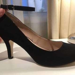 Betts ankle strap heels