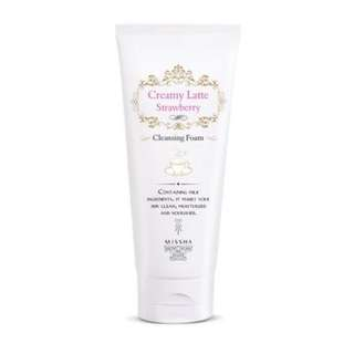 🎀Missha Creamy Latte Strawberry Foam Cleanser🎀