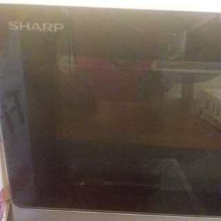 Faulty Sharp microwave