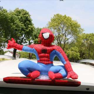 Spiderman car top ornament - BNIB