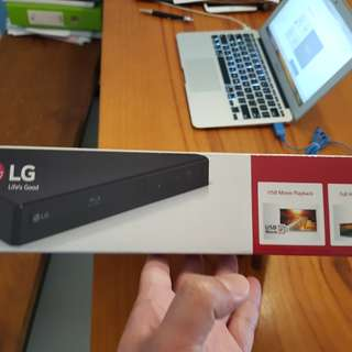 Brand New Premium LG BP250 Smart 3-in-1 Solution Blu-ray Disc DVD Player