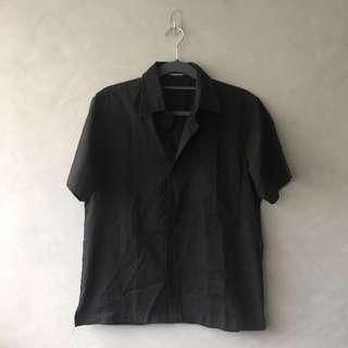 U2 Basics Black Short Sleeved Polo