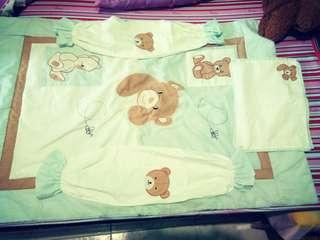 Comforter, bolster case,pillow case