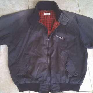 Harrington jacket (warna navy)