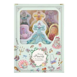 Japan Disneystore Disney Store Disney Princess Princess Party Notepad Set