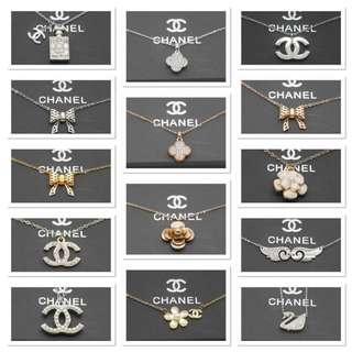 Chanel necklaces full set. :)