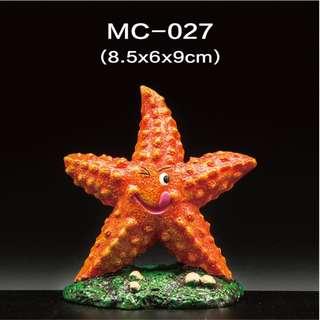 Small Starfish Decor for Reptile or Aquarium Fish Tank