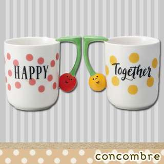 #預購 . 日本 DECOLE concombre 情侶杯 Happy Together .