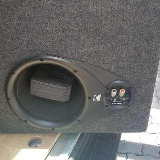 12inch dual sub woofer box