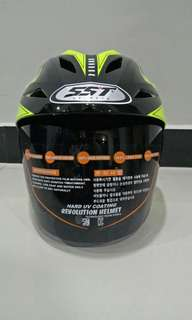 Helm Half Face SST S1 Decal