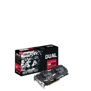 BNIB - ASUS Radeon RX 580 DUAL-RX580-8G GRAPHIC CARD
