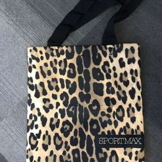SPORTMAX Sportmax tote leopard authentic