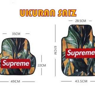 Supreme Car Carpet