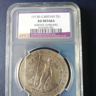 BTD key year 1913B in NGC AU det