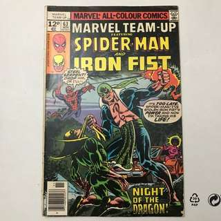 Marvel Team Up # 63