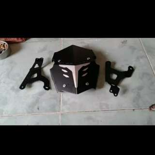 Xmax mud guard brand agna inspire original