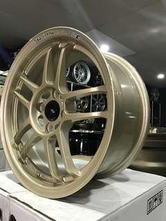 15 inch Racinghart CP035 sport rim copy  ori 99%