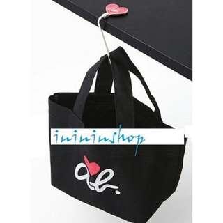 全新日本品牌 Agnes b TOTE BAG 手挽袋+ 掛鈎