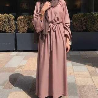 🌸 long pink kimono outerwear