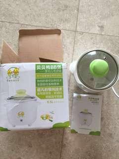 Baby food slow cooker/ mini slow cooker baby porridge