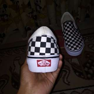 Vans Slip on Checkerboard 41