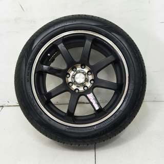 15 '' Sport Rim With Tyre 4x100 4x114.3 (SR970)