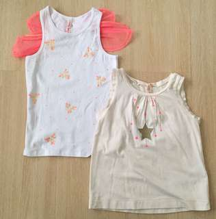 Cotton On Fairy Wings Tank Top Sets
