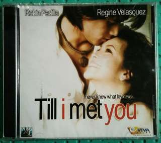 REGINE AND ROBIN- TILL I MET YOU VCD