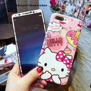 Hellokitty Oppo R9S plus / R11S / Iphone X / 6S plus casing