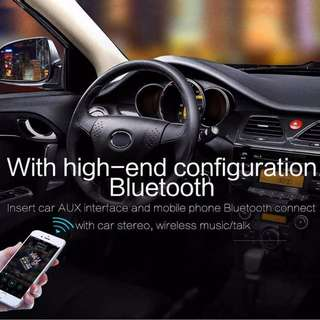 Rechargeable Bluetooth CSR 4.0 Handsfree Car MP3 Music Receiver - Can connect 2 phones - S2504