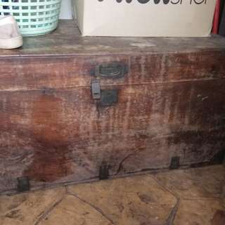 Old wooden box over 100++ yrs