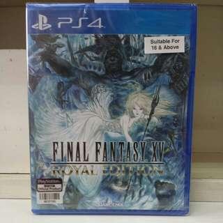 PS4 Final Fantasy XV Royal Edition R3 English