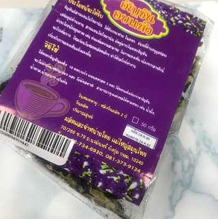 泰國購入蝶豆花50g