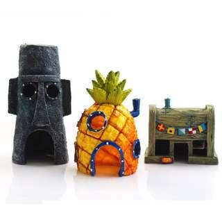 SpongeBob Decoration for Reptile or Aquarium Fish Tank