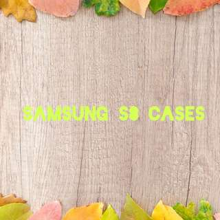Samsing S8 Cases