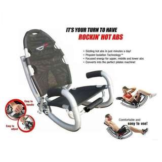 Alat Fitness Pembentuk Perut Rockin Hard Rock Abs Chair Murah Like Nordictrack