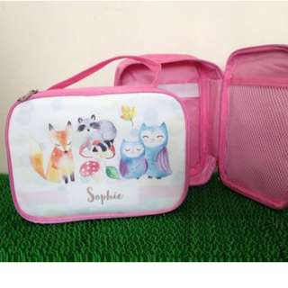 Personalized Birthday Party Favour (Art Case / Stationery Bag)