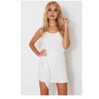 BNWT white fox boutique white dress