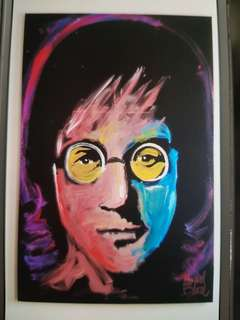 Portrait John Lennon
