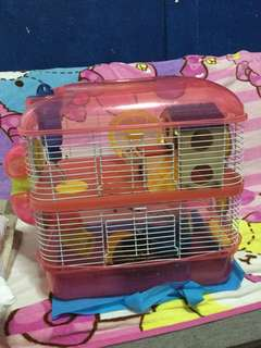 Hamster cage 2 storey
