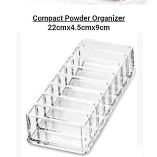 Acrylic Compact Powder/Makeup Organiser