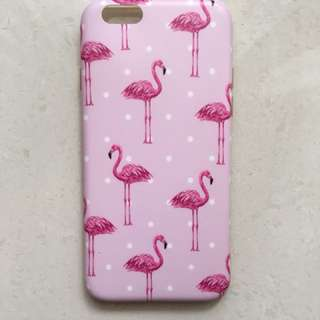 iPhone 6/6s Softcase-Flamingo