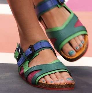 BURBERRY Prorsum Field-Block Sandals